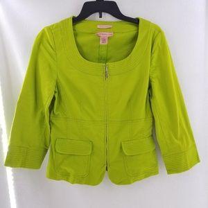 BANDOLINO Green Stretch Jacket Sz 6